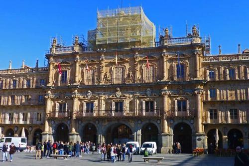 Ayuntamiento de Salamanca, el edifico más importante de la Plaza Mayor