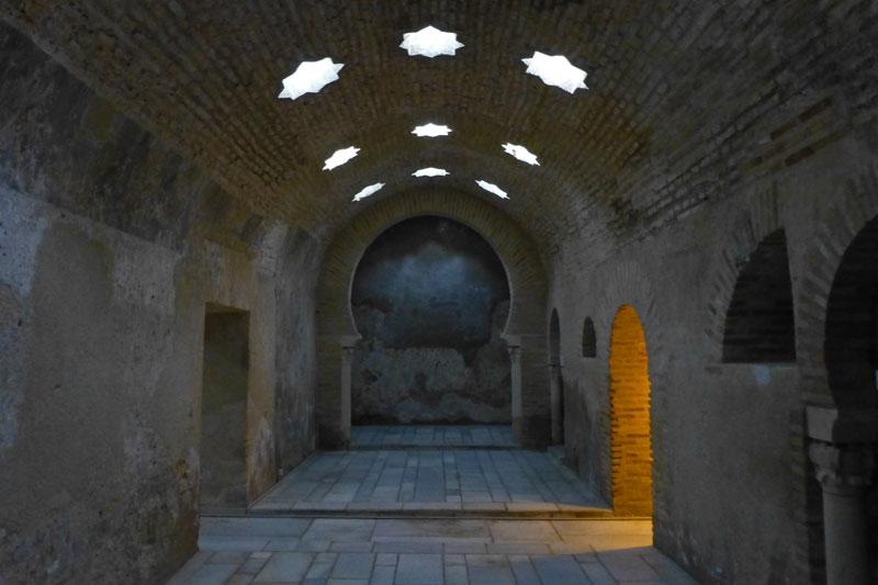 Baños Arabes En Jaen | Banos Arabes De Jaen En El Palacio De Villardompardo