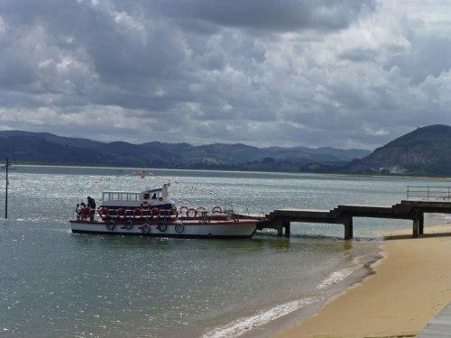 Barco de la ruta Santoña-Laredo
