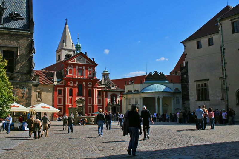 Hradčany o barrio del Castillo de Praga