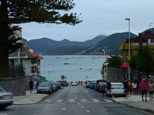 Playa de Trengandín desde las calles de Noja