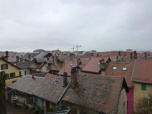 Entramado de casas medievales de Annecy