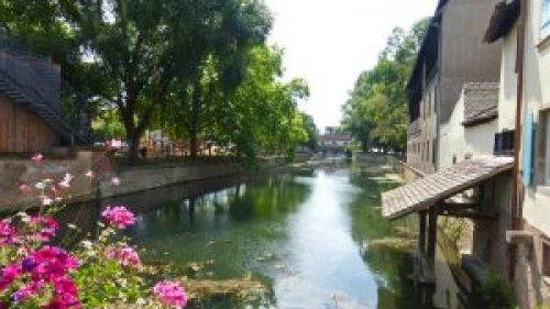 Canales de Estrasburgo, una de la ciudades más bellas de Francia