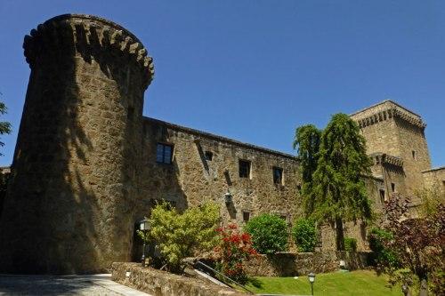 Castillo-Palacio de los Condes de Oropesa, actual Parador de Turismo de Jarandilla de la Vera