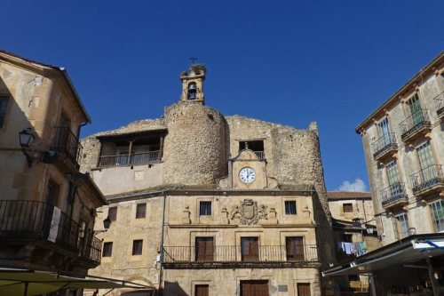 Castillo de Fernán González en Sepúlveda