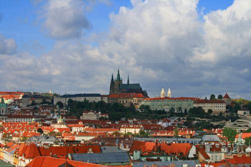 Castillo de Praga en el corazón del barrio Hradčany