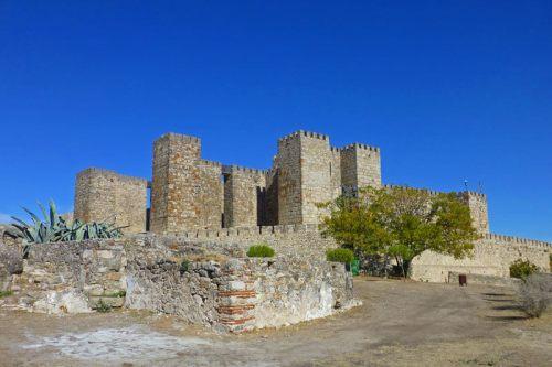 Alcázar de Trujillo, uno de los escenarios de la serie Juego de Tronos