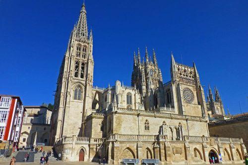 Catedral de Burgos, en su interior se encuentra el sepulcro del Cid Campeador