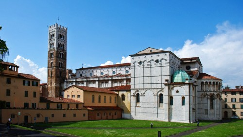 Catedral de San Martín, el santuario más importante de Lucca