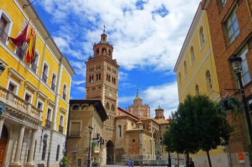 Catedral de Teruel, una de las pocas de España de estilo mudéjar aragonés