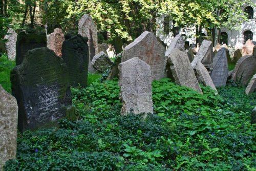 Lápidas del Antiguo Cementerio Judío de Praga