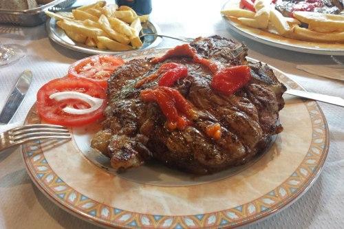 Chuletón de ternera gallega, gastronomía de la Ribeira Sacra