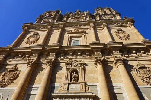 Fachada de La Clerecía de Salamanca
