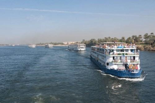 Cruceros por el Nilo entre Lúxor y Asúan