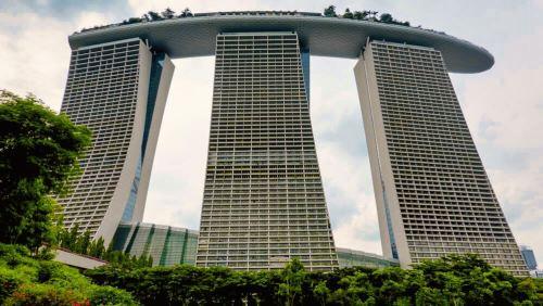 Complejo turístico de Marina Bay Sands