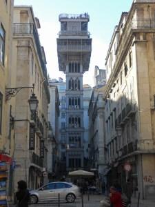 Elevador de Santa Justa, historia de Lisboa