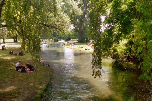 Englischer Garten, el más visitado de los jardines de Múnich