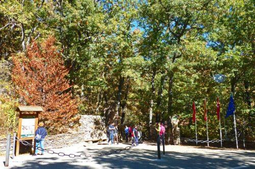 Entrada al Hayedo de Montejo de la Sierra