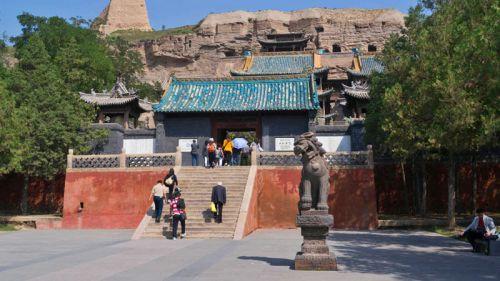Entrada a las Grutas de Yungang, uno de los principales atractivos cerca de Datong