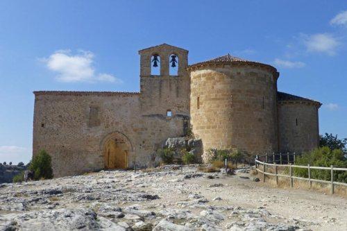 Ermita de San Frutos en el Parque Natural de las Hoces del Río Duratón