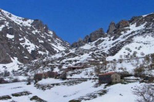 Invernales de Igüedri en los alrededores de Espinama