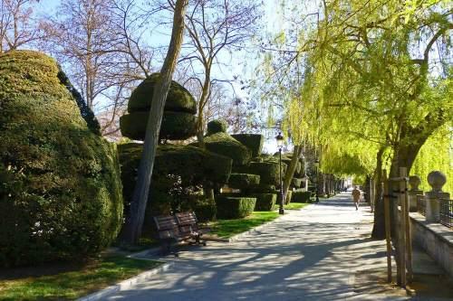 Paseo del Espolón, uno de los espacios más pintorescos y transitados de Burgos