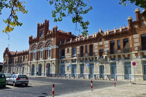 Estación de trenes de Aranjuez de estilo neomudéjar