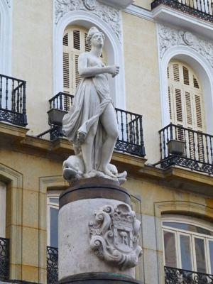 La Mariblanca en la Puerta del Sol
