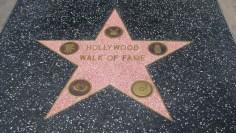 Inicio del Paseo de la Fama de Hollywood
