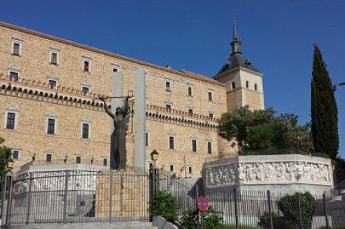 Fachada del Alcázar de Toledo