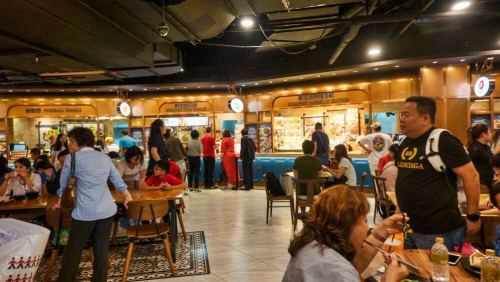 Food Courts de Singapur