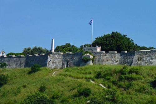 Antigua entrada a la Fortaleza de San Carlos de la Cabaña