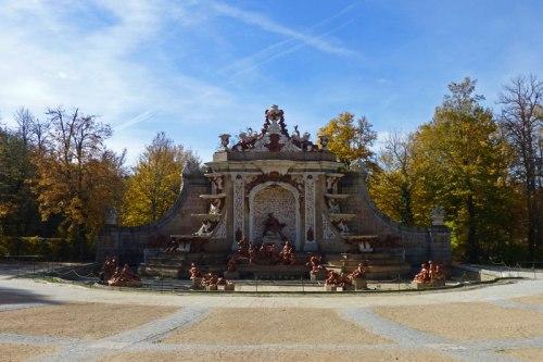 Fuente de Los Baños de Diana en los Jardines de La Granja de San Ildefonso