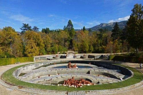 Fuente La Selva en los Jardines de La Granja de San Ildefonso