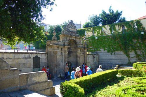 Fuente de Las Burgas en Orense, conocida como la Capital Termal de Galicia