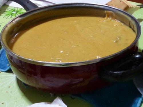 Gachas de la matanza, comida típica de Fuentidueña de Tajo