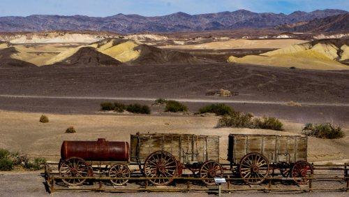 Harmony Borax Works, ruinas de una antigua mina en el Valle de la Muerte