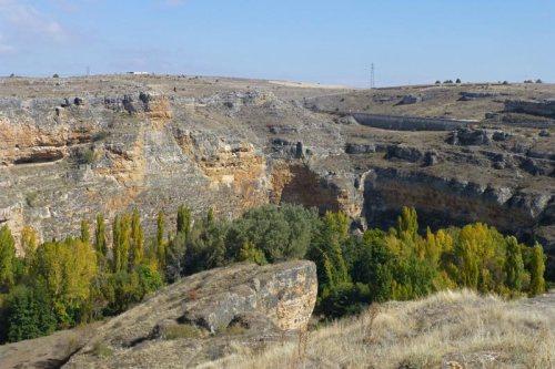 Vistas de las Hoces del Río Duratón desde Sepúlveda