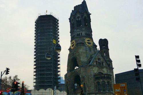 Iglesia Memorial Kaiser-Wilhelm en Berlín