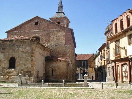 Plaza del Grano, una de las más concurridas de León durante la Edad Media