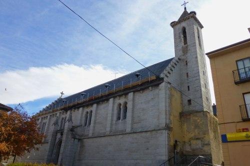 Iglesia de Pío XII en La Granja de San Ildefonso