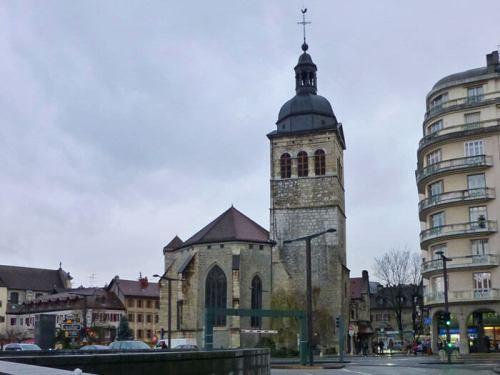 Iglesia de San Mauricio, la más antigua de Annecy