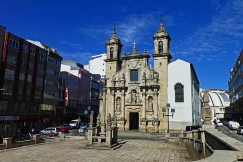 Iglesia de San Jorge, uno de los mejores ejemplos del barroco gallego en La Coruña