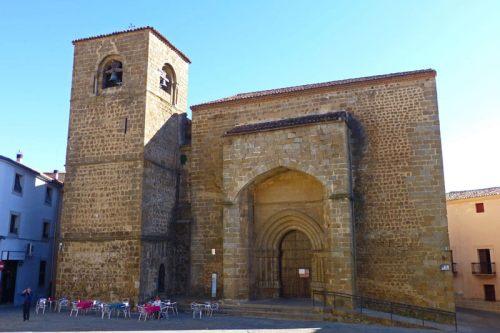 Iglesia de San Nicolás, de estilo románico