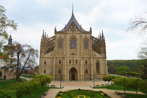 Iglesia de Santa Bárbara en Kutná Hora