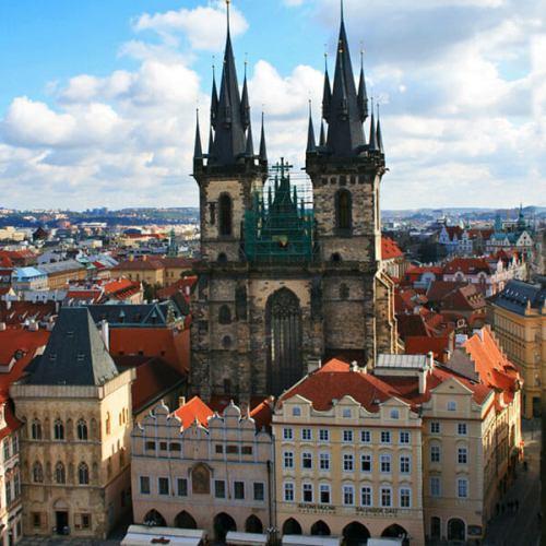 Iglesia de Týn, una joya de estilo gótico