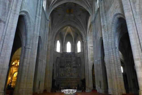 Retablo Mayor en el interior de la Catedral de Huesca