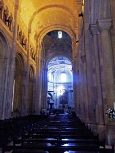 Interior Catedral de Lisboa