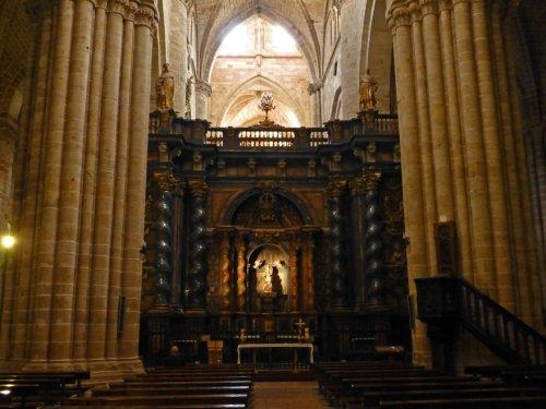 Altar del trascoro de la Catedral de Sigüenza