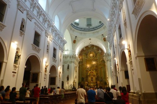 Interior de la Iglesia de San Ildefonso o Iglesia de los Jesuitas, iglesias de Toledo